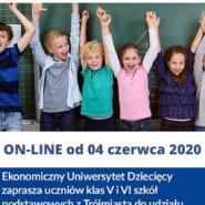 Ekonomiczny Uniwersytet Dziecięcy online