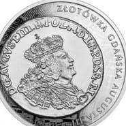 Historia monety polskiej - złotówka gdańska Augusta III - wystawa