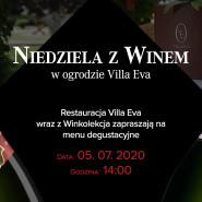 Niedziela z winem w ogrodzie Villa Eva