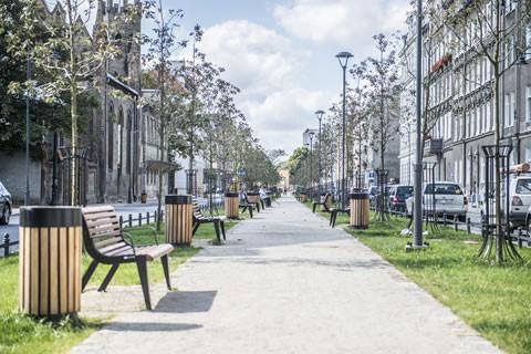 Dolne Miasto i ulica Łąkowa
