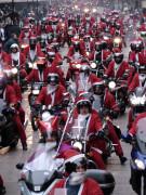 Mikołaje na Motorach