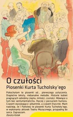 O czułości - piosenki Kurta Tucholsky'ego -