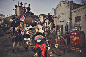 Parada Steampunku -