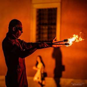 Plucie ogniem - Fire Breathing Show