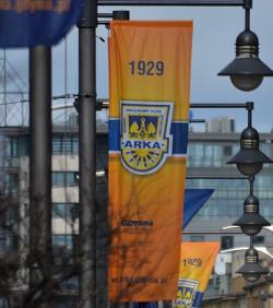 Na jedną z licytacji w Gdyni trafi m. in. flaga z obchodów 80-lecia Arki w 2009 roku.