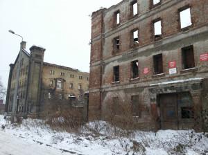 Co zaciekawiło Roba Garretta w Gdańsku? Na przykład ruiny spichrzów przy ul. Na Stępce...