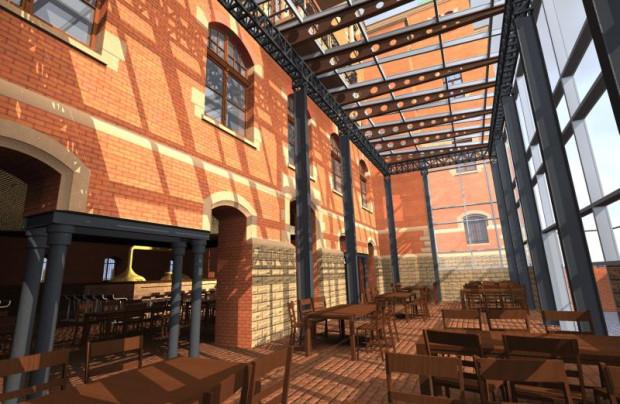 Restauracja i minibrowar, w którym będzie warzone stare gdańskie piwo Jopen.