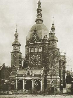 Wielka Synagoga w Gdańsku.