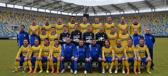Kadra Arki na rundę wiosenną sezonu 2012/13 w I lidze.