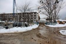 W budowie jest obecnie pierwszy z dziesięciu budynków Osiedla Świrskiego.