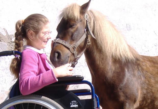 Ćwiczenia ze zwierzętami pomagają w rehabilitacji różnych problemów, a dzieci swoich zwierzęcych terapeutów wręcz uwielbiają.