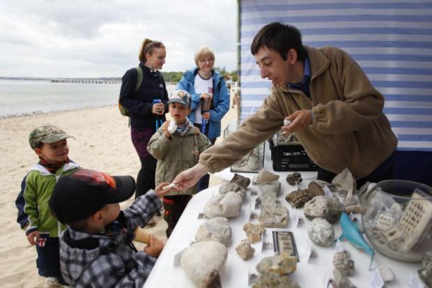 Podczas XI Bałtyckiego Festiwalu Nauki przy klifie w Orłowie geolodzy pokażą m.in. meteoryty i węgiel brunatny, który kryje się w klifie.