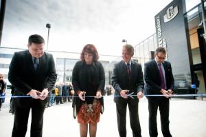 Uroczyste otwarcie budynku Wydziału Chemii, z udziałem Barbary Kudryckiej, Minister Nauki i Szkolnictwa Wyższego, odbyło się 27 maja 2013 roku.