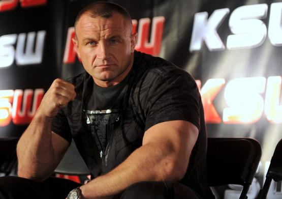 Mariusz Pudzianowski postara się w sobotę, aby mieć w Ergo Arenie dodatni bilans walk