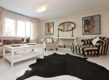 Apartament w stylu prowansalskim to dzieło projektantki wnętrz i malarki Grażyny Piórko.