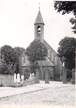 Kościół św. Mikołaja w 1941 r.