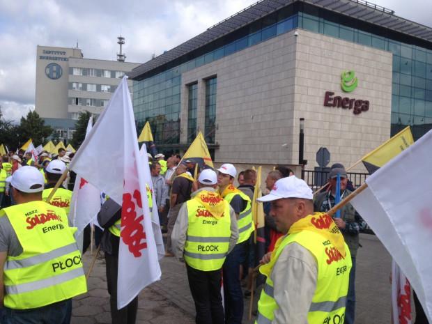 Pracownicy Grupy Energa mają wyruszyć na ulice Gdańska przed 11:00.
