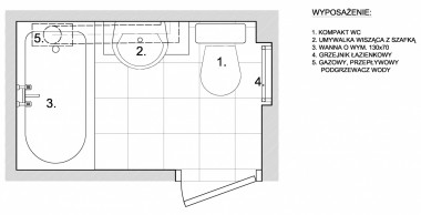 Aranżacje Wnętrz Mała łazienka Z Piecykiem Gazowym Serwis