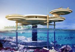 Podwodny hotel wymyślony przez trójmiejskie firmy. Pierwsza taka konstrukcja powstanie na Malediwach.