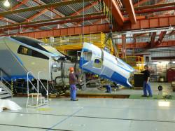 Tak powstaje Pendolino dla Polski we włoskich zakładach firmy Alstom.