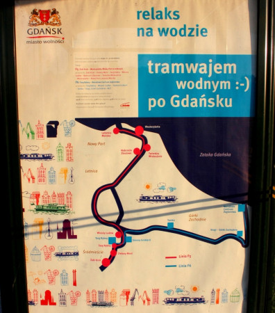 Tramwaj wodny po opuszczeniu wód Motławy powinien płynąć prosto przez Kanał Kaszubski.