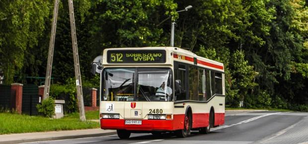 Autobusy kursujące po Śródmieściu będą krótsze o ok. pół metra od tych, które można spotkać m.in. na linii 512.
