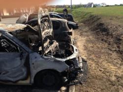 Kolejne samochody spalone w środę wieczorem.