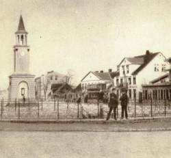 Rynek we Wrzeszczu ok. 1870 r.