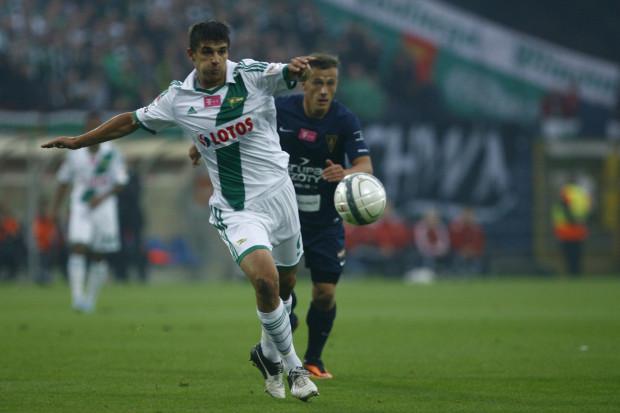 Piotr Grzelczak setny mecz w ekstraklasie uświetnił golem.
