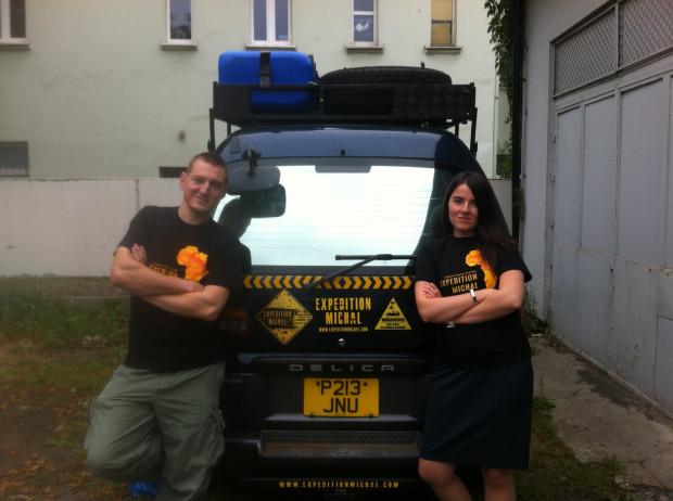 Michał Frąckowiak i Katarzyna Kugiel przez najbliższe pół roku będą przemierzać trasę z Brzeźna do Cape Town w RPA. Odwiedzone po drodze miejsca uwiecznią na zdjęciach, filmach, a następnie prawdopodobnie powstanie książka o ich ekspedycji.