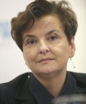 Lidia Kodłubańska, dyrektor szpitala św. Wincentego a Paulo w Gdyni.