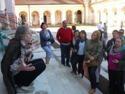Uczestnicy wykładów w tym roku byli m.in. z prof. Zbigniewem Mikołejką w Bazylice pw. Najświętszej Marii Panny w Świętej Lipce.
