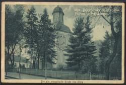 Tak kościół św. Jakuba wyglądał na początku XX wieku, kiedy należał do gminy ewangelickiej.