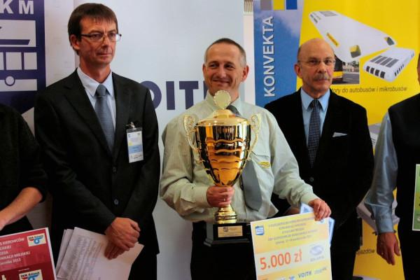 Najwyższą nagrodę przyznano kierowcy MPK Poznań.