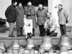 Nowy carillon powstał dzięki inicjatywie urodzonego w Gdańsku Hansa Eggebrechta.