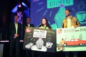 """Kulinarno-filmowy blog """"From movie to the kitchen"""" Pauliny Wnuk oraz dziennik z podróży """"Autostopem przez życie"""" Przemka Skokowskiego otrzymały - odpowiednio - nagrodę jury oraz czytelników w konkursie Blog of Gdańsk 2013."""
