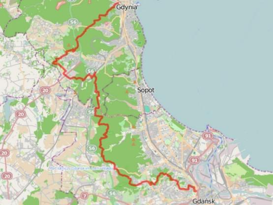 Kliknij na mapę i zobacz detale trasy