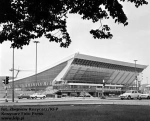 Hala Olivii podczas budowy. 8.06.1972 r.