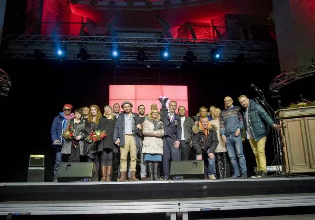 Laureaci festiwalu Yach Film 2013.