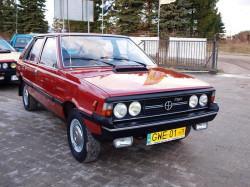 """Polonez 1500, nazywany Borewiczem. Takim samochodem jeździł Bronisław Cieślak w popularnym serialu """"07 zgłoś się""""."""