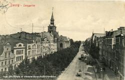 Tak wyglądały Długie Ogrody ok. 1910 r.