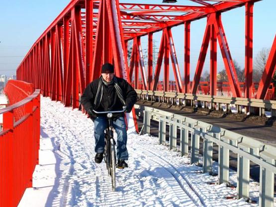 Wskocz na rower, zimą wcale nie jest tak zimno!