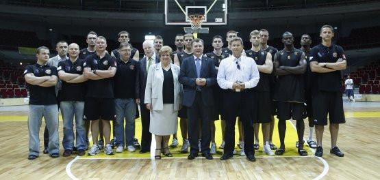Koszykarski Trefl Sopot w nowym składzie w hali Ergo Arena.