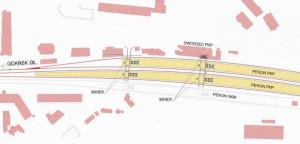 Koncepcja przebudowy stacji Gdańsk Wrzeszcz.