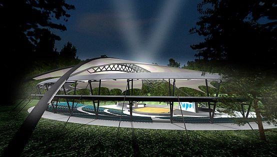 Tak sopocki amfiteatr miał wyglądać latem 2011 roku. Możliwe jednak, iż prace nie zakończą się do tego czasu.