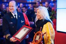 "Laureatka II nagrody ""Rejs Roku"" Joanna Pajkowska"