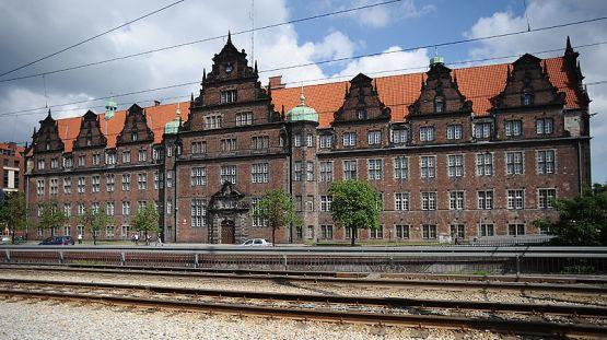 Dawny budynek Prezydium Policji, obecnie siedziba gdańskiej delegatury Agencji Bezpieczeństwa Wewnętrznego.