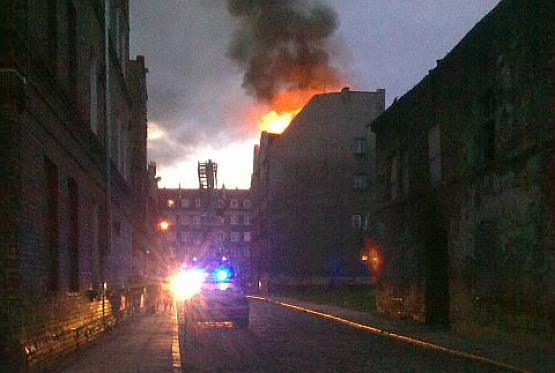 Na razie przyczyny pożaru są nieznane. Na pewno nie ma jednak ofiar.