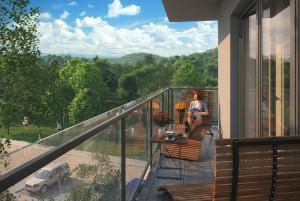 Bliskość lasów Trójmiejskiego Parku Krajobrazowego powoduje, że miejsce zamieszkania stanie się także doskonałym miejscem wypoczynku.