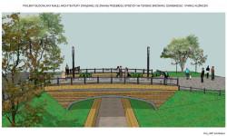 Na teren dawnego browaru będzie można dostać się też mostkiem nad Potokiem Strzyży w rejonie ul. Kilińskiego.